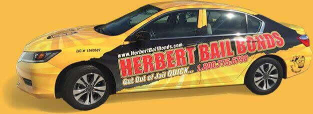herbert bail bonds car